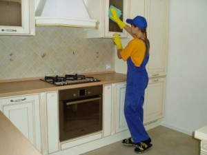 flat cleaning